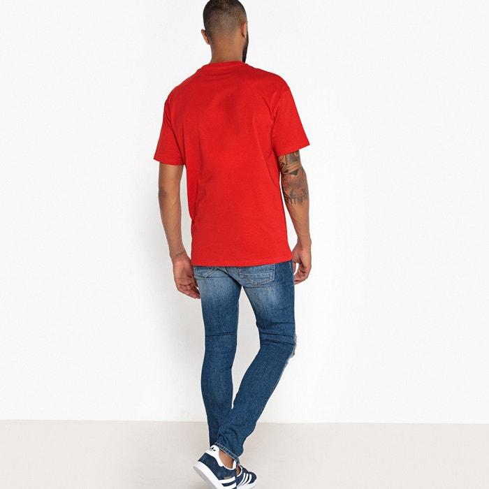 y con Collections cuello Camiseta Redoute redondo amplio corte manga de corta La Y4BqwR