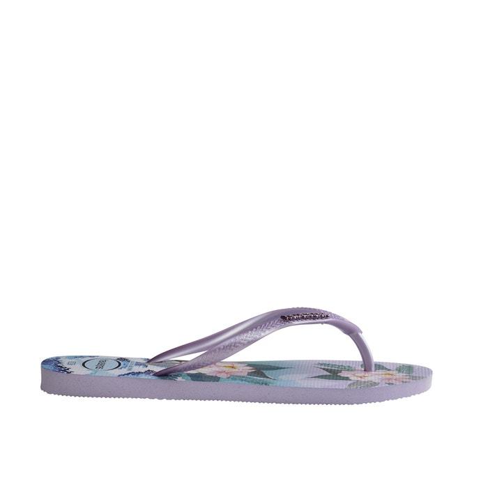 086cb210f2d Slim tropical sunset flip flops