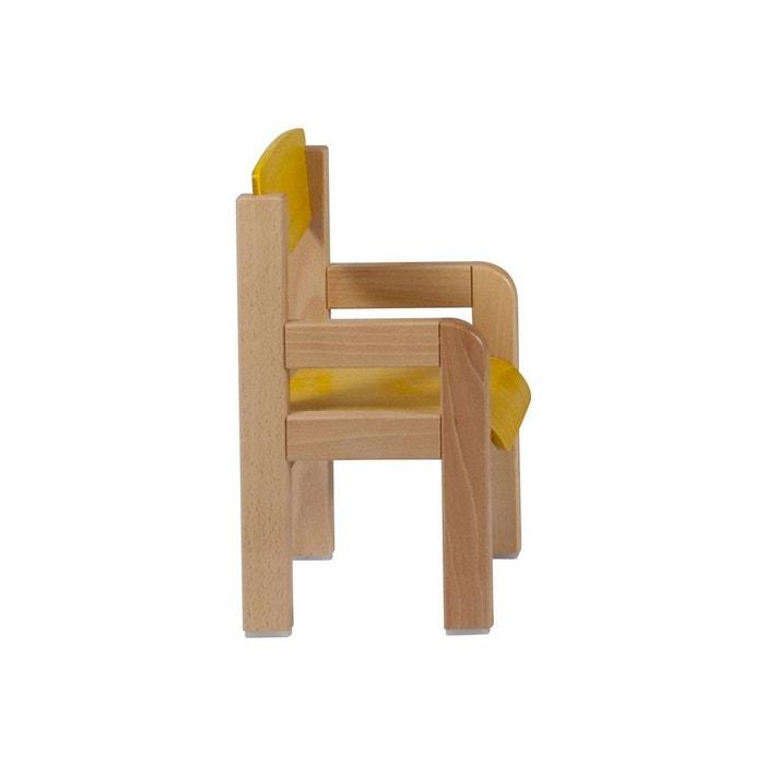 fauteuil en bois pour enfant de 3 7 ans winni t. Black Bedroom Furniture Sets. Home Design Ideas