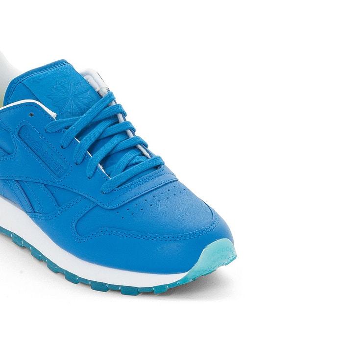 Baskets classic cl lthr face bleu Reebok