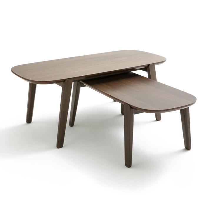Tavolini bassi impilabili (conf. da 2) AGURA  La Redoute Interieurs image 0