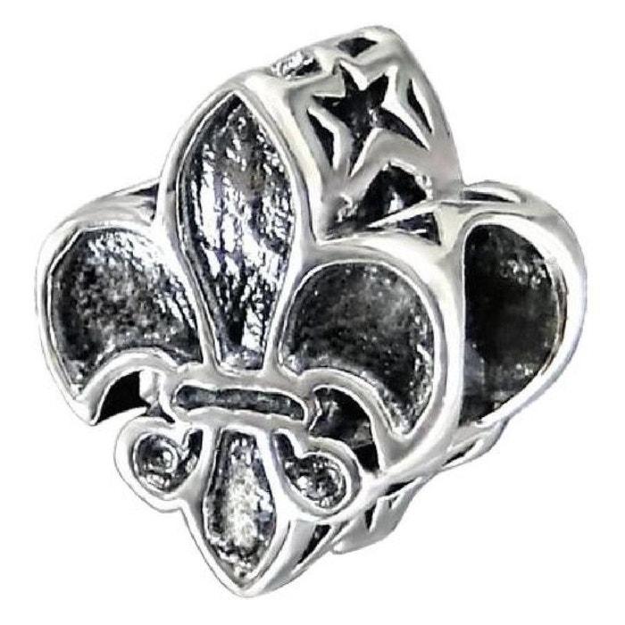 Charm Fleur De Lys Lis Symbole Royaute Charms Compatibles Pandora