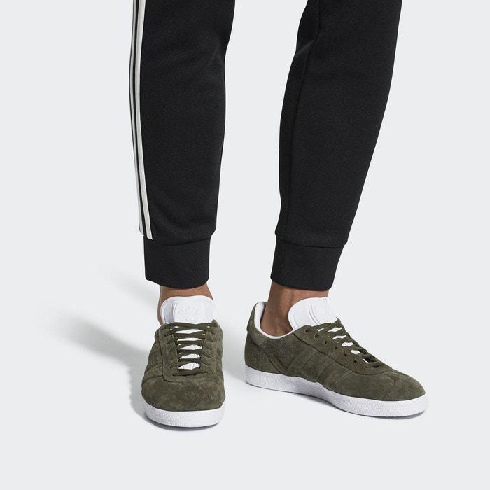 Chaussure gazelle stitch and turn vert Adidas Originals