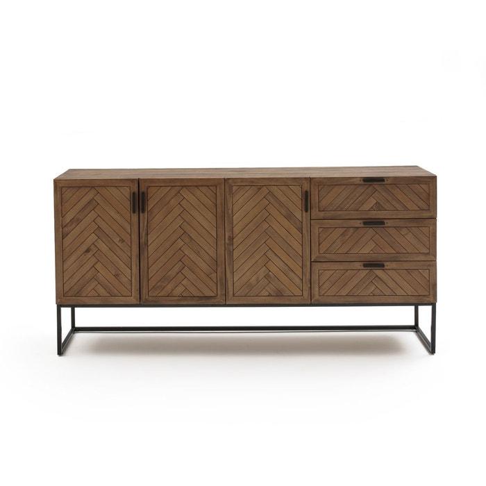 buffet 3 portes 3 tiroirs nottingham pin cir la redoute interieurs la redoute. Black Bedroom Furniture Sets. Home Design Ideas