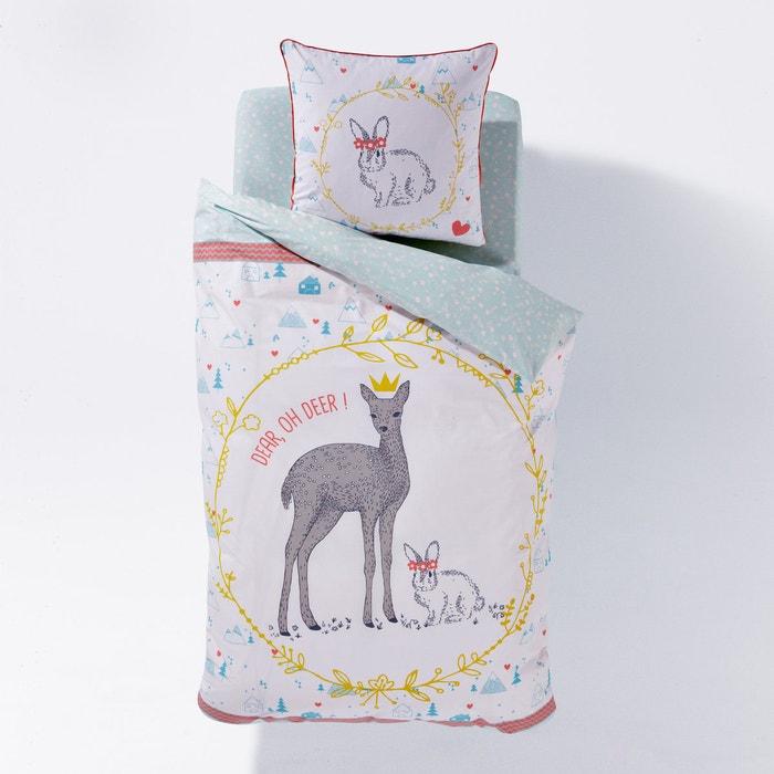 "Bild Bettbezug ""Oh Deer"" für Kinder La Redoute Interieurs"