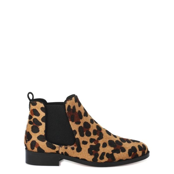 Boots léopard vero/pony imprimé léopard Cosmoparis Pas Cher Affordable En Ligne Clairance Site Officiel Nouvelle Vente En Ligne 2018 Faible Coût De Sortie Eastbay Vente Pas Cher 6tJ7w