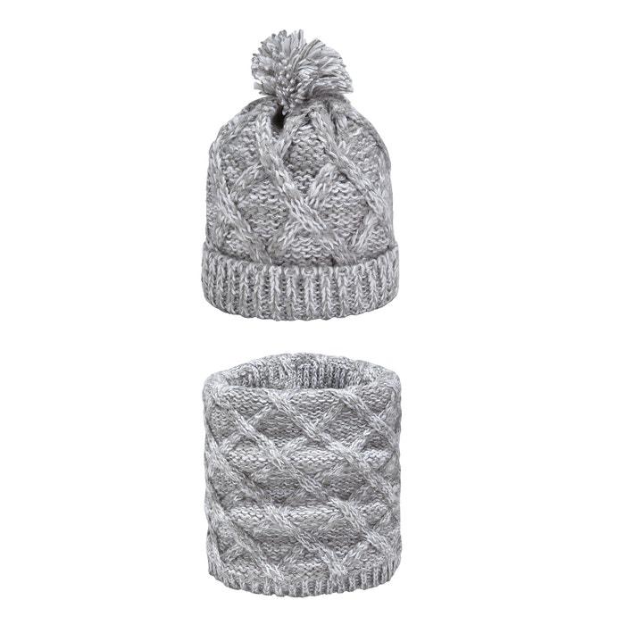 La Redoute Collections Big Girls Ecarh Brown Hat