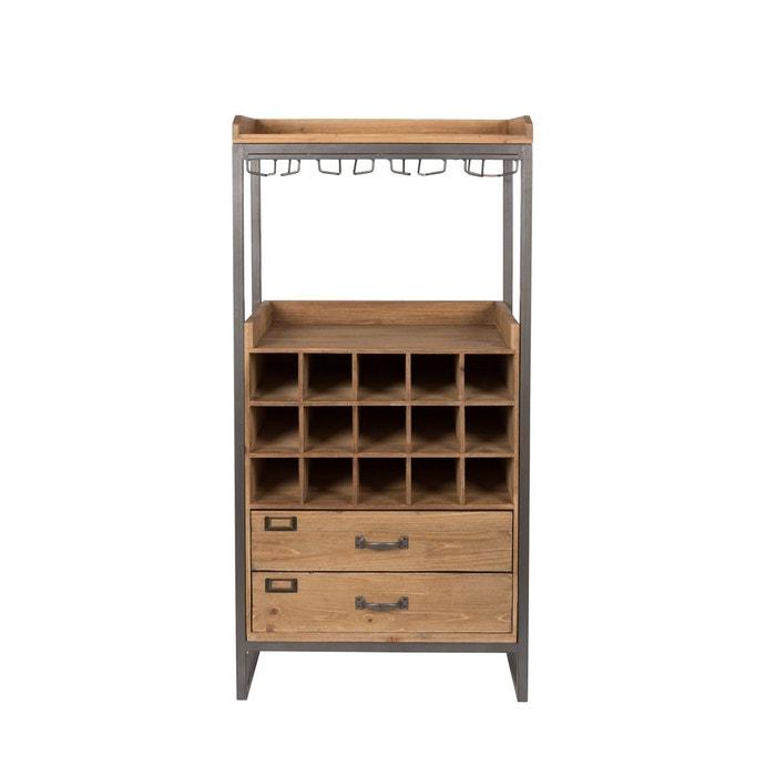 meuble range bouteilles et verres edgar boite design boite a design image 0 - Meuble Bois Design