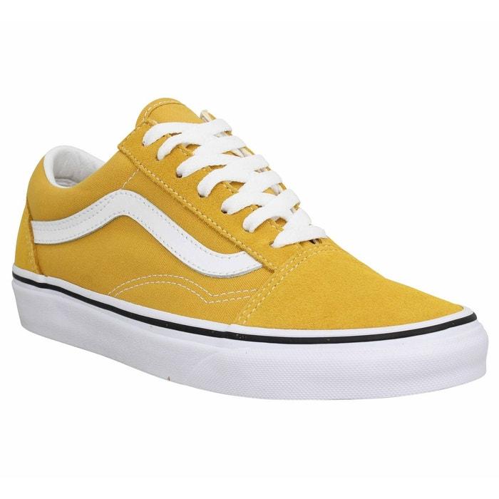 36954af448 Baskets velours old skool jaune Vans