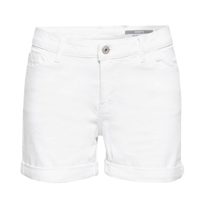 Shorts Mit Aufschlag 5 Pocket Form Weiss Esprit La Redoute