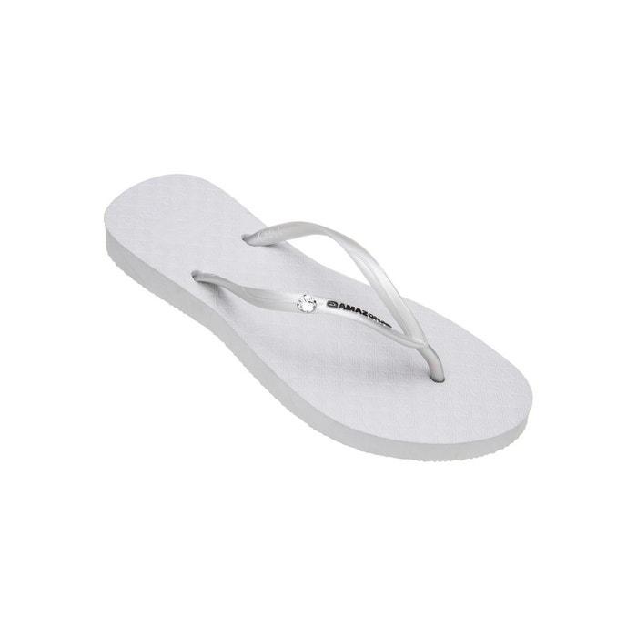Amazonas Tongs femme  Fun Shine Blanc BLANC - Chaussures Tongs Femme