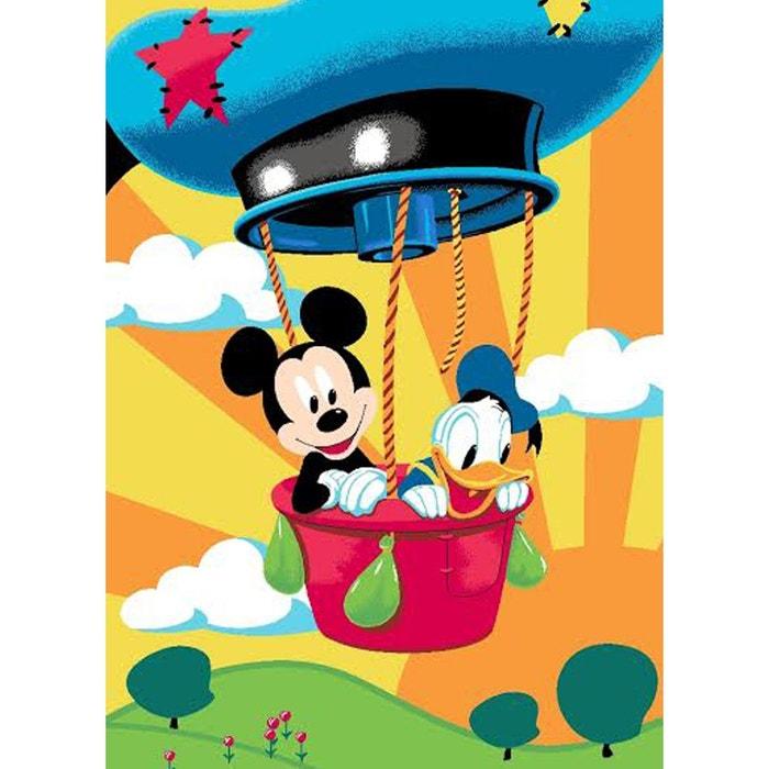 Tapis mickey mouse et donald disney multicolor walltastic la redoute - Alfombras infantiles disney ...