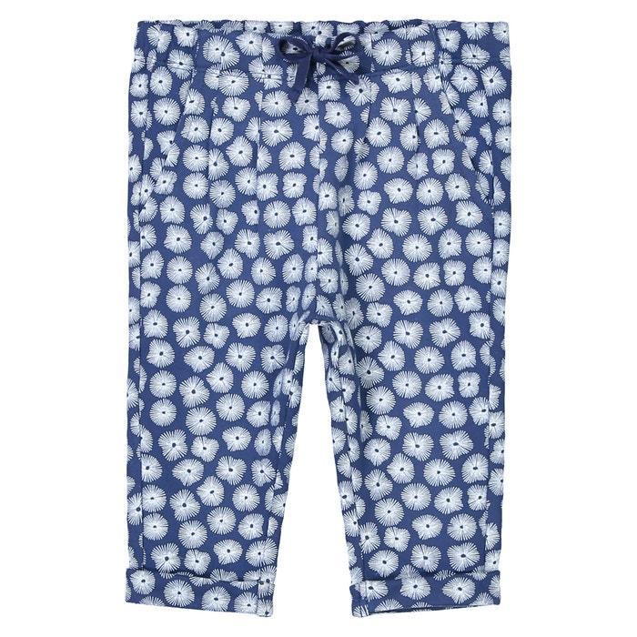 Pantaloni in tessuto felpato fantasia da 1 mese a 3 anni Oeko Tex  La Redoute Collections image 0