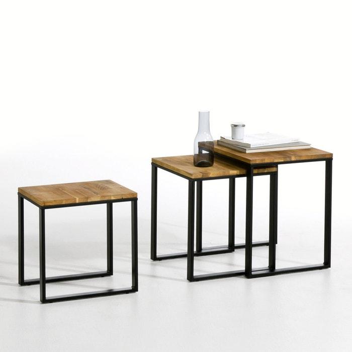 Set of 3 Hiba Nested Coffee Tables