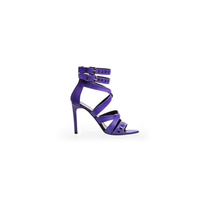 Sandales violet Mara D ...