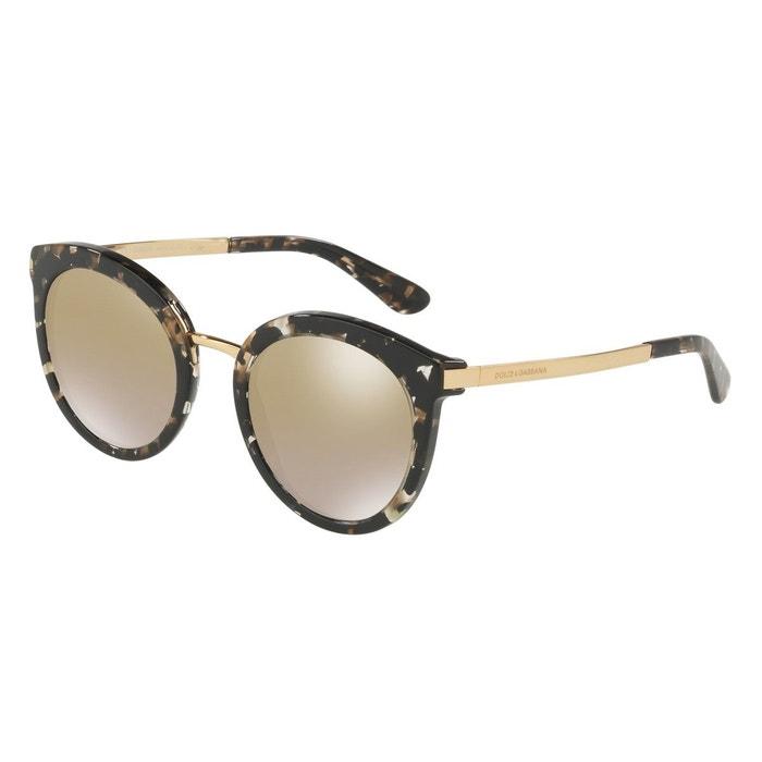 9de179497eae8c Lunettes de soleil dg4268 noir Dolce Gabbana   La Redoute