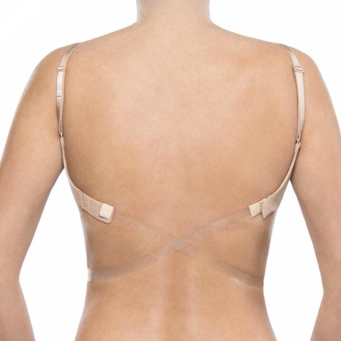 Convertisseur de soutien gorge transparent 1 crochet pour effet dos nu  autre L Et L  c1f130d87b9