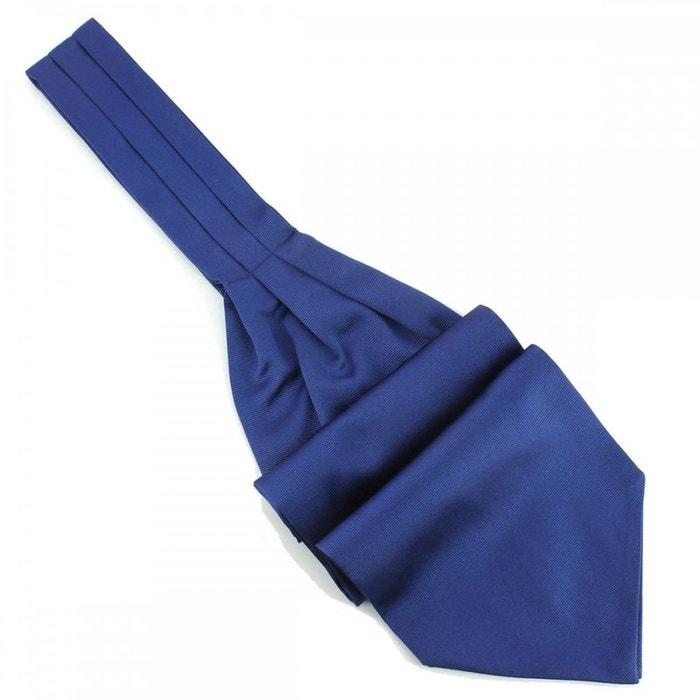 Cravate ascot en soie, bleu royal, fait à la main bleu Tony Et Paul   La Redoute