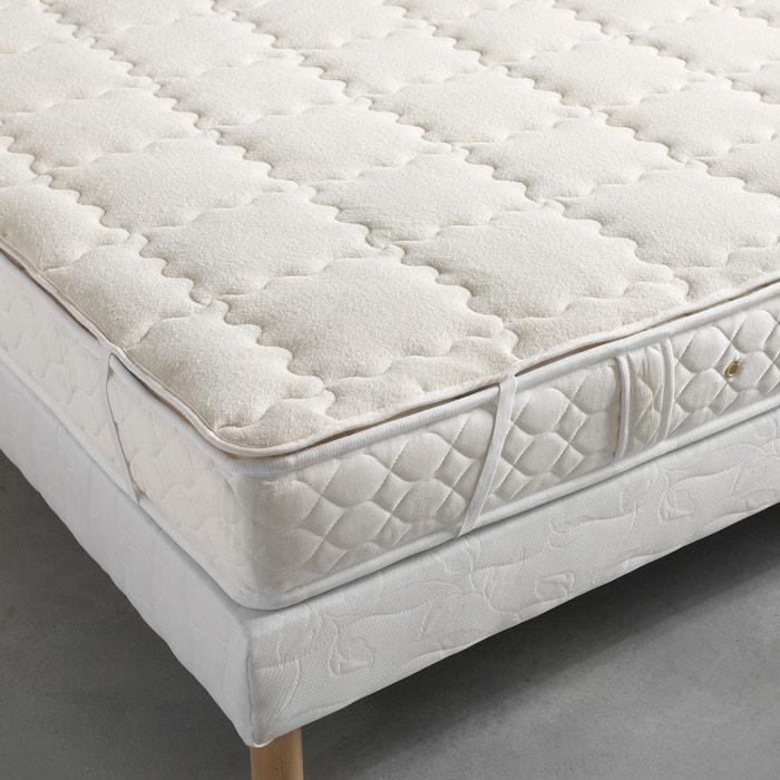 surmatelas pure laine vierge woolmark la redoute interieurs cru la redoute. Black Bedroom Furniture Sets. Home Design Ideas