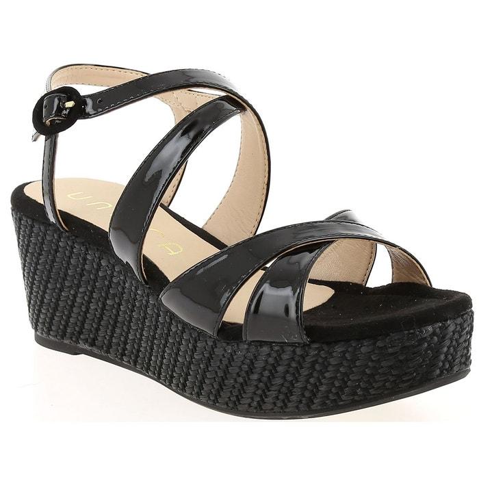 Unisa KAFIA VN Noir - Chaussures Sandale Femme