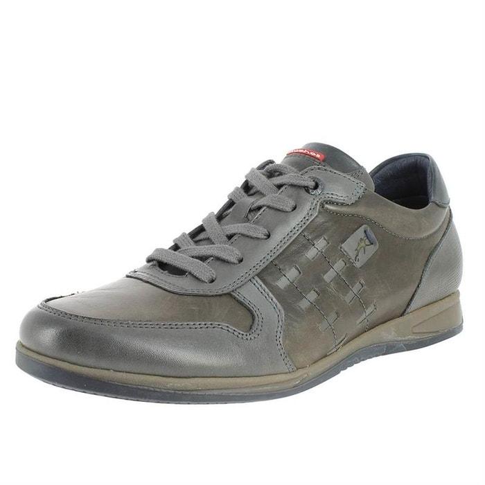 Chaussures cuir Fluchos Redoute à La lacets graphite 4aqZCzvw