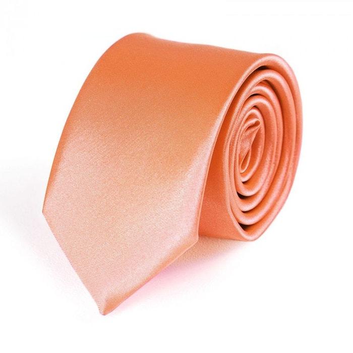 fda88856931b0 Cravate slim corail dandytouch - fabriqué en europe rose Dandytouch | La  Redoute