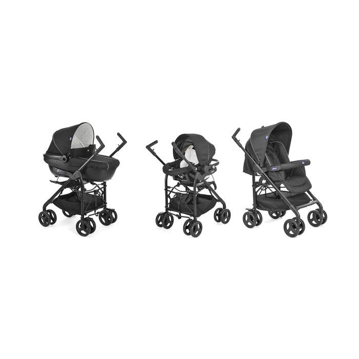 Carrinho de bebé Pack Trio Sprint, preto  CHICCO image 0