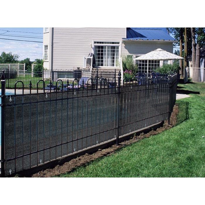 brise vue pour balcon 500 x cm ardoise couleur unique jardideco la redoute. Black Bedroom Furniture Sets. Home Design Ideas