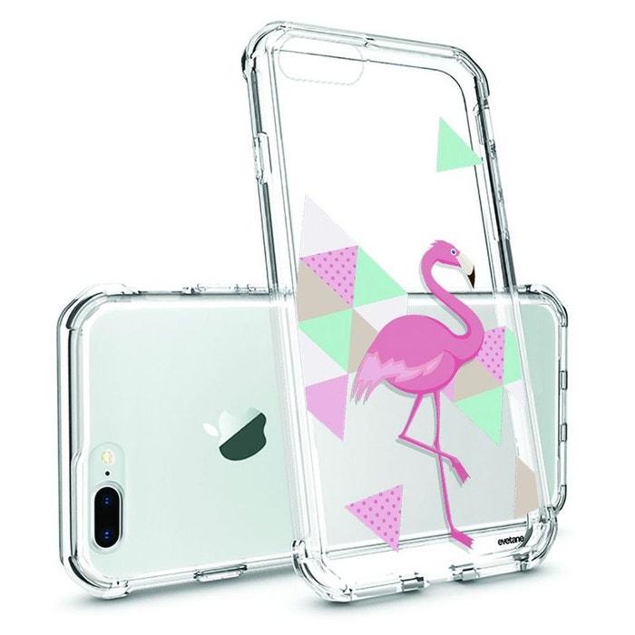 coque iphone 7 plus flamant rose
