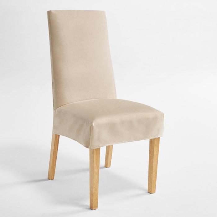 Housse de chaise en su dine kala la redoute interieurs - Housse de chaise la redoute ...