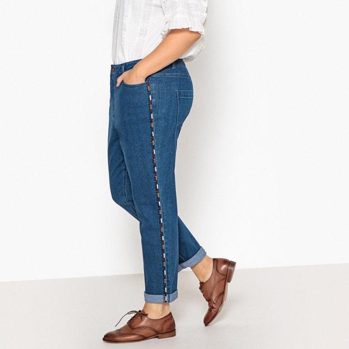 Jeans boyfit ricamato  CASTALUNA image 0