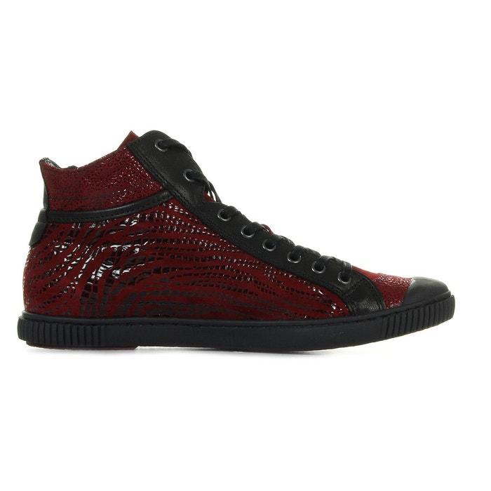 Baskets femme bono z f4c rouge rouge / noir Pataugas
