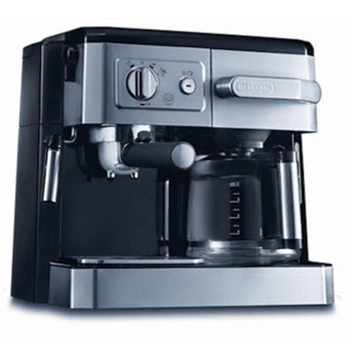 combin cafeti re filtre expresso bco 420 1 noir argent. Black Bedroom Furniture Sets. Home Design Ideas