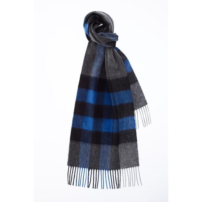 Echarpe motif tartan bleu Carnet De Vol   La Redoute 6762b524f89