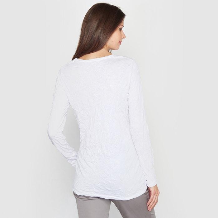 WEYBURN y Camiseta encaje punto ANNE arrugado xA6aP0nWn