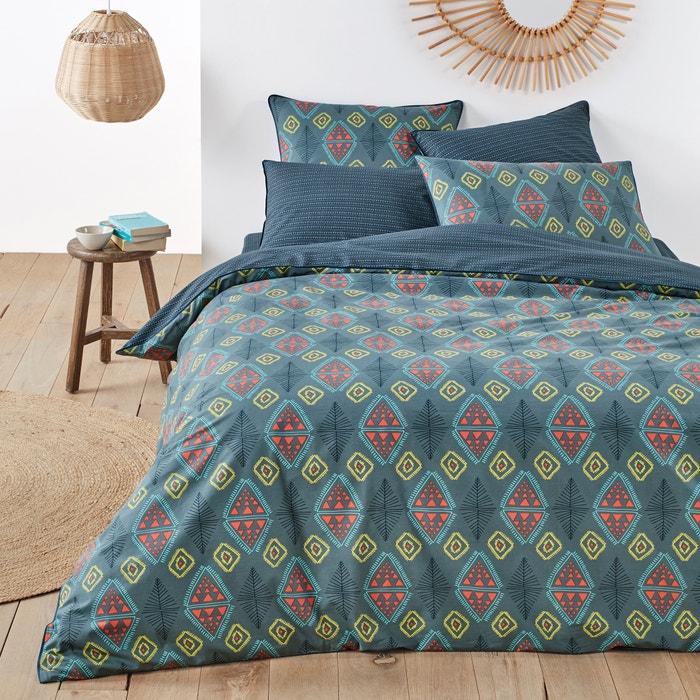 capa de edredon em algod o kalinda estampado la redoute. Black Bedroom Furniture Sets. Home Design Ideas