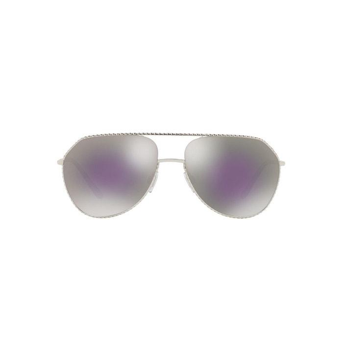 Lunettes de soleil dg2191 argent Dolce Gabbana   La Redoute 06141c6c824c