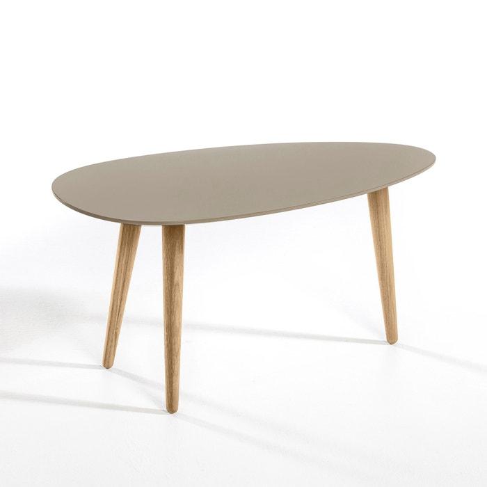 Flashback Retro Lacquered Hevea Wood Coffee Table