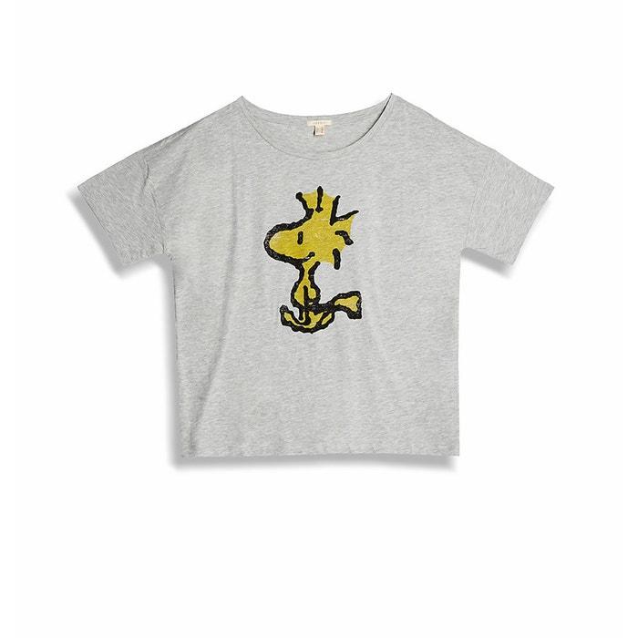afbeelding T-shirt met ronde hals ESPRIT