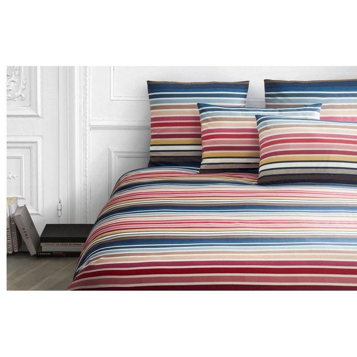 housse de couette rue de grenelle variante sunset multicolore sonia rykiel la redoute. Black Bedroom Furniture Sets. Home Design Ideas