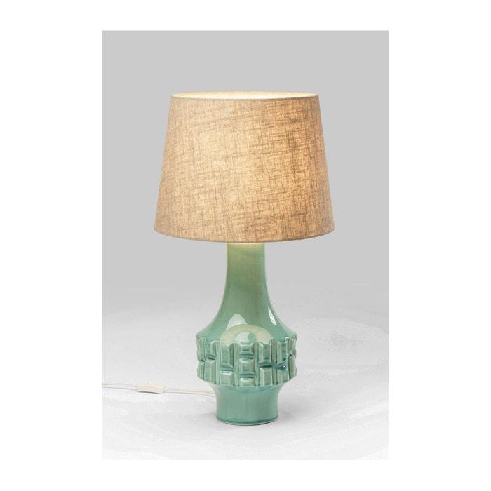 lampe de table cosy braid turquoise kare design bleu kare. Black Bedroom Furniture Sets. Home Design Ideas
