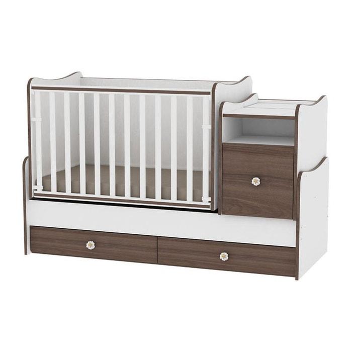 lit b b volutif combin 3en1 trend plus lorelli couleur. Black Bedroom Furniture Sets. Home Design Ideas