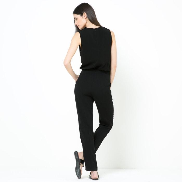 фото Комбинезон с брюками, V-образный вырез с запахом La Redoute Collections