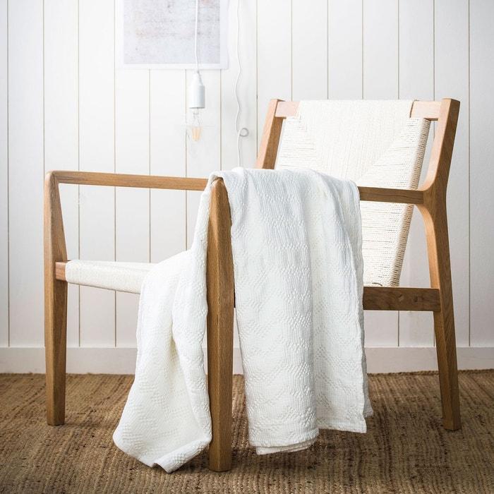 plaid malo en coton lav essix la redoute. Black Bedroom Furniture Sets. Home Design Ideas