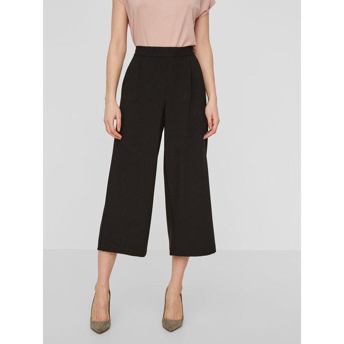 pantalon hw jupe culotte black vero moda la redoute. Black Bedroom Furniture Sets. Home Design Ideas