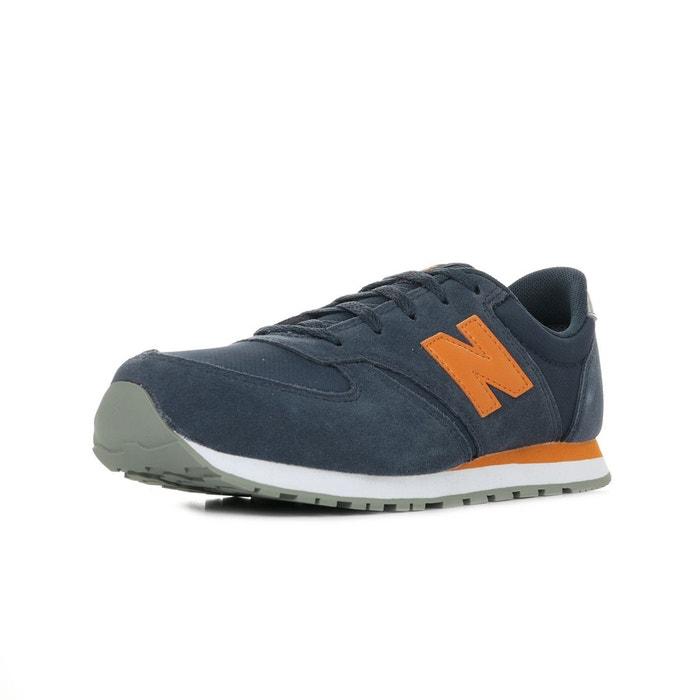 basket new balance bleu orange