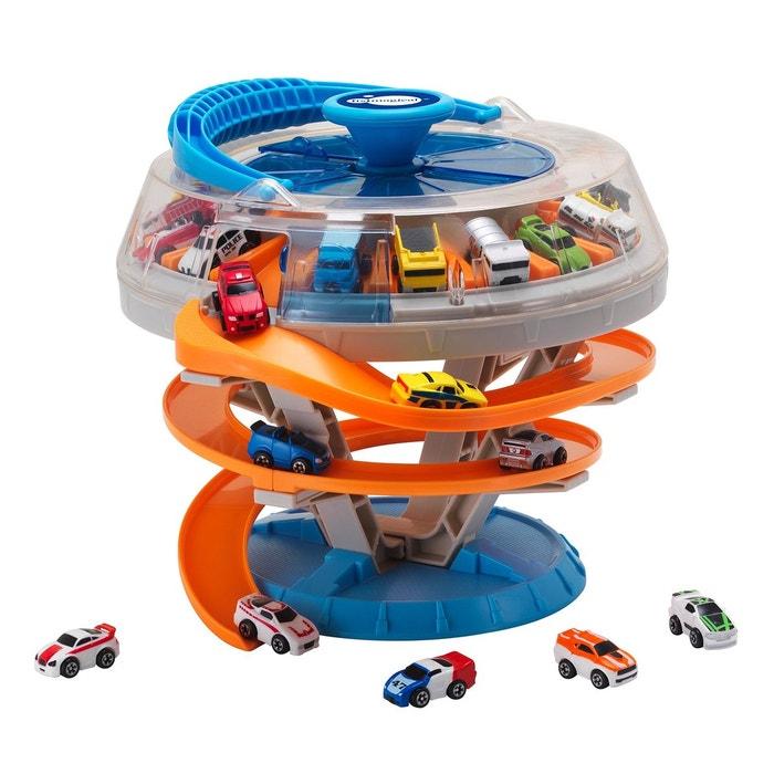 Garage mini voitures vitesse couleur unique imaginarium for Garage echange voiture