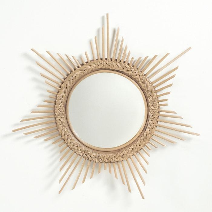 Espelho sol em rotim BRIGITTE BARDOT X LA REDOUTE