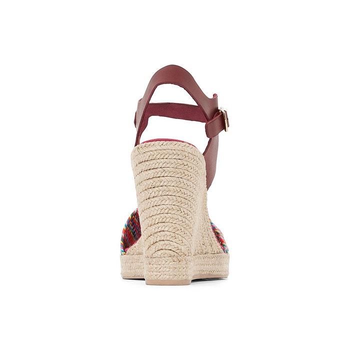 Sandales cuir talon compensé athena Pare Gabia
