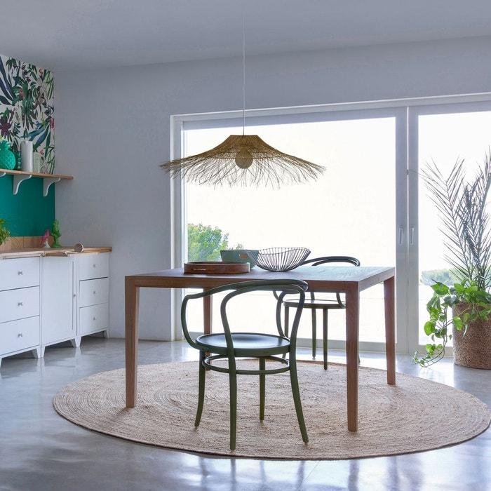 Imagem Mesa quadrada Nizou, design E. Gallina AM.PM.